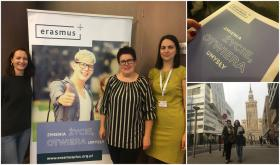 Szkolenie dla beneficjentów Programu Erasmus+